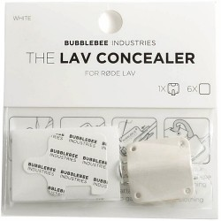 Bubblebee Industries Lav Concealer for Rode Lavalier (White)