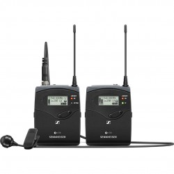 Sennheiser EW 122P G4 Camera-Mount Wireless Cardioid Lavalier Microphone System (A: 516 to 558 MHz)