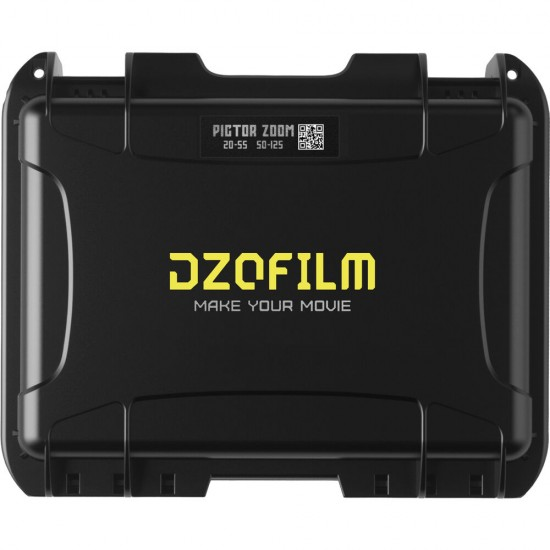 DZOFilm Pictor 20-55mm and 50-125mm T2.8 Super35 Zoom Lens Bundle (PL and EF Mount, White)