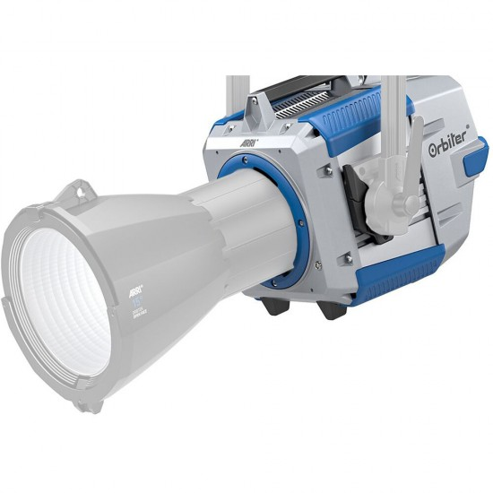 ARRI Orbiter LED Light with Open Face without Lens, Yoke & Cable (Blue/Silver)