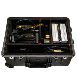 Dedolight DLH400D Basic HMI 1 Light Kit, Hard Case (90-260 VAC)