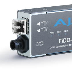 2-Channel 3G-SDI to Multi-Mode LC Fiber Transmitter